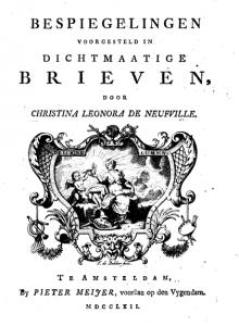 Bespiegelingen voorgesteld in dichtkundige brieven (1741)