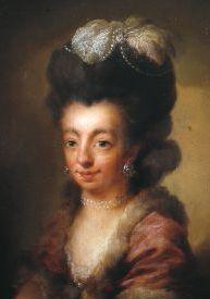 Portret van Juliana Cornelia de Lannoy, door Niels Rode, 1778 (Noordbrabants Museum)