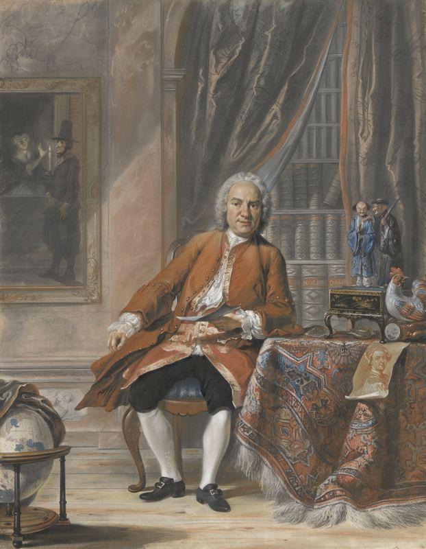 Portret van Mauricius, door Cornelis Troost, ca. 1741 (Rijksmuseum).