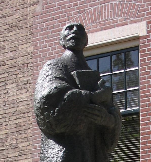 Standbeeld van Stalpaert te Delft
