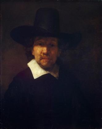 Jeremias de Decker, geschilderd door Rembrandt, 1660. St Petersburg, Hermitage.