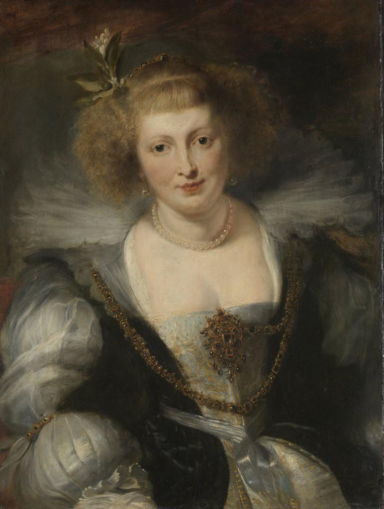 Peter Paul Rubens, Portret van Helena Fourment (1614-1673) (Rijksmuseum)