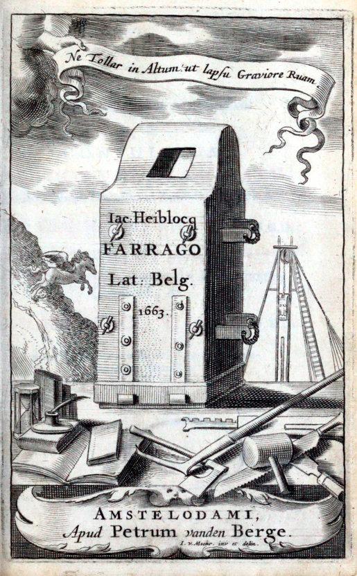 Jacobi Heiblocq Amstelaedamensis Farrago Latino-Belgica, of Mengelmoes van Latijnsche en Duitsche gedichten (Koninklijke Bibliotheek, Den Haag)