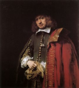 Rembrandt, Portret van Jan Six, 1654 (Collectie Six)